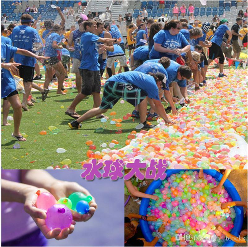 HOT Colorful Bunch of Balloons Water filled Balloon Amazing Magic Water Balloon Bombs Toys filling Water Ballons Games for Kids Toys