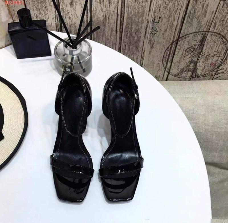 sandali da donna stravaganti in primavera zz34 business casual sandali degli alti talloni tutti in pelle importati semplici delle donne glamour