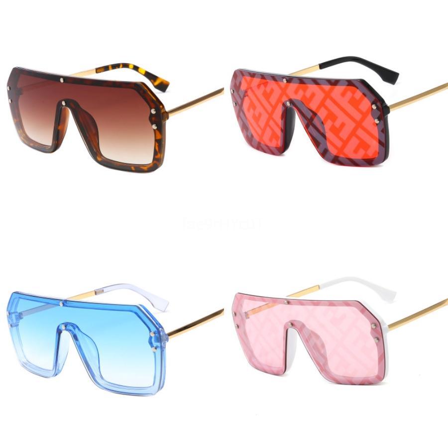 182 Double F Lunettes de soleil mode Femmes Populaire Plein cadre UV400 objectif d'été de style Big Square Cadre de qualité supérieure Come With CaseDR35624 # 423