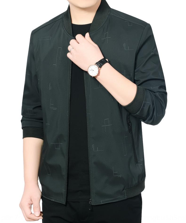 d8HNo primavera 2020 de ropa para hombres y otoño del resorte delgado coreano guapo chaqueta chaqueta de la ropa nueva versátil capa de los hombres de mediana edad con estilo