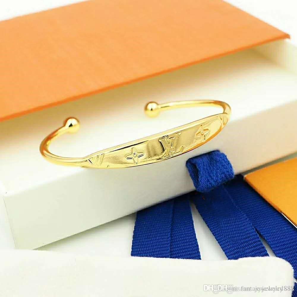 Europa und Amerika beste Armbänder klassische Brief Eröffnung Modedesigner Armband Entwerferschmucksachen Verkauf Frauen