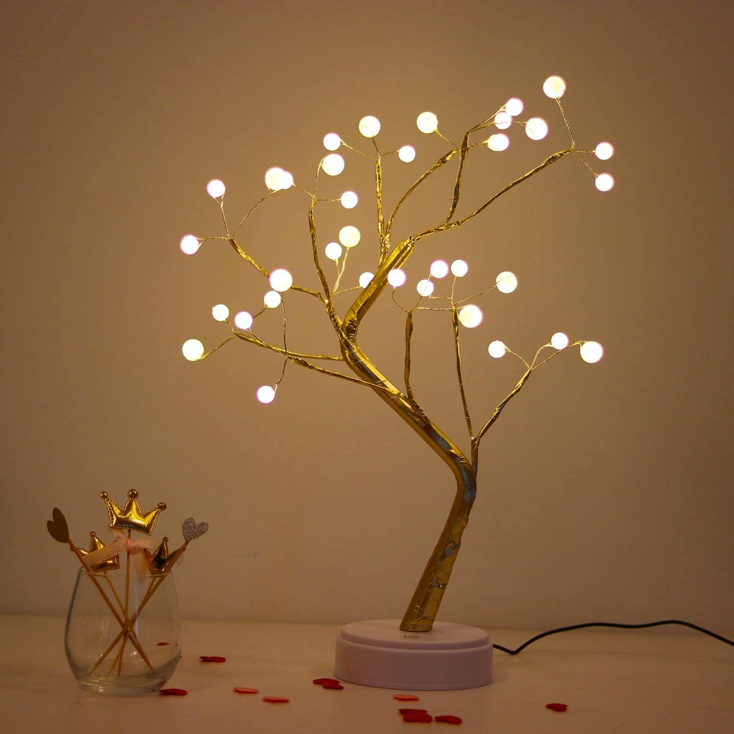 20 Tabletop Bonsai Tree Light With 36 Pearls Led Mood Light Pearl Branch Lights For Holiday Home Decorative Night Light For Living Room Led Grow Led Headlight From Phylliss 9 79 Dhgate Com