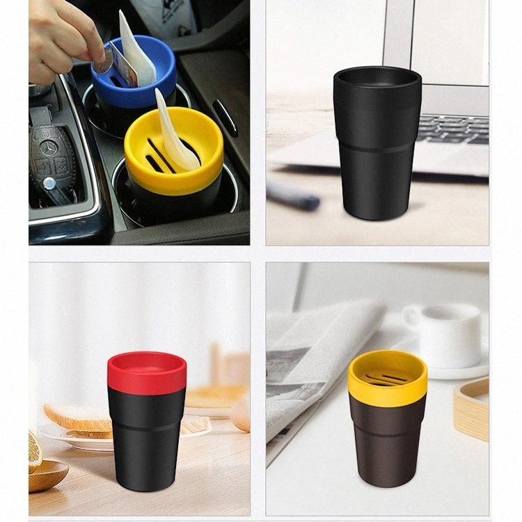 boîte de rangement de voitures 4-en-1 sundries boîte voiture polyvalente poubelle portable peut le tissu de FHFx de #