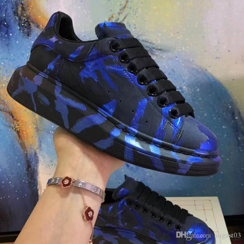 Toptan Yeni Stil Casual Ayakkabı Erkek Kadın rengi Kristal hava yastığı taban Sneaker Beyaz Siyah Platformu Düşük Kesme Moda Ayakkabılar I6