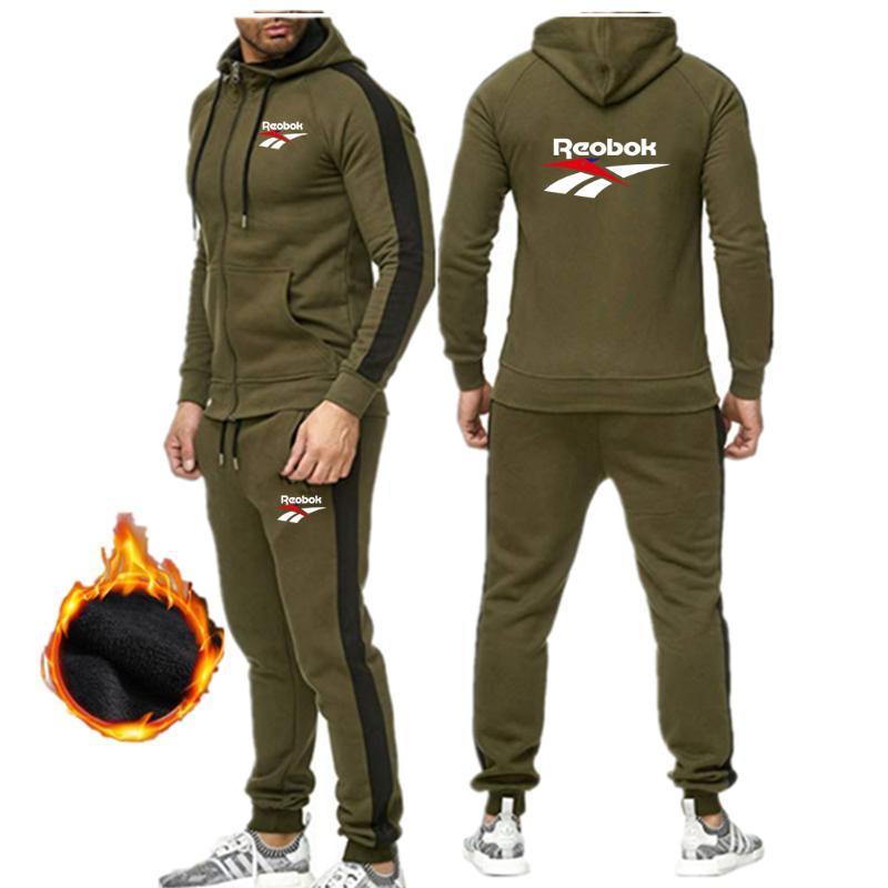 2020 neue Sport mit Kapuze mit Kapuze Klage Anzug Männer Casual Baumwolle Herbst und Winter warm Sweatshirt der Männer Sport sportswea