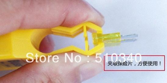 Wholesale-New great auto tool,car fuse tester free shipping fuse clip cYS1#