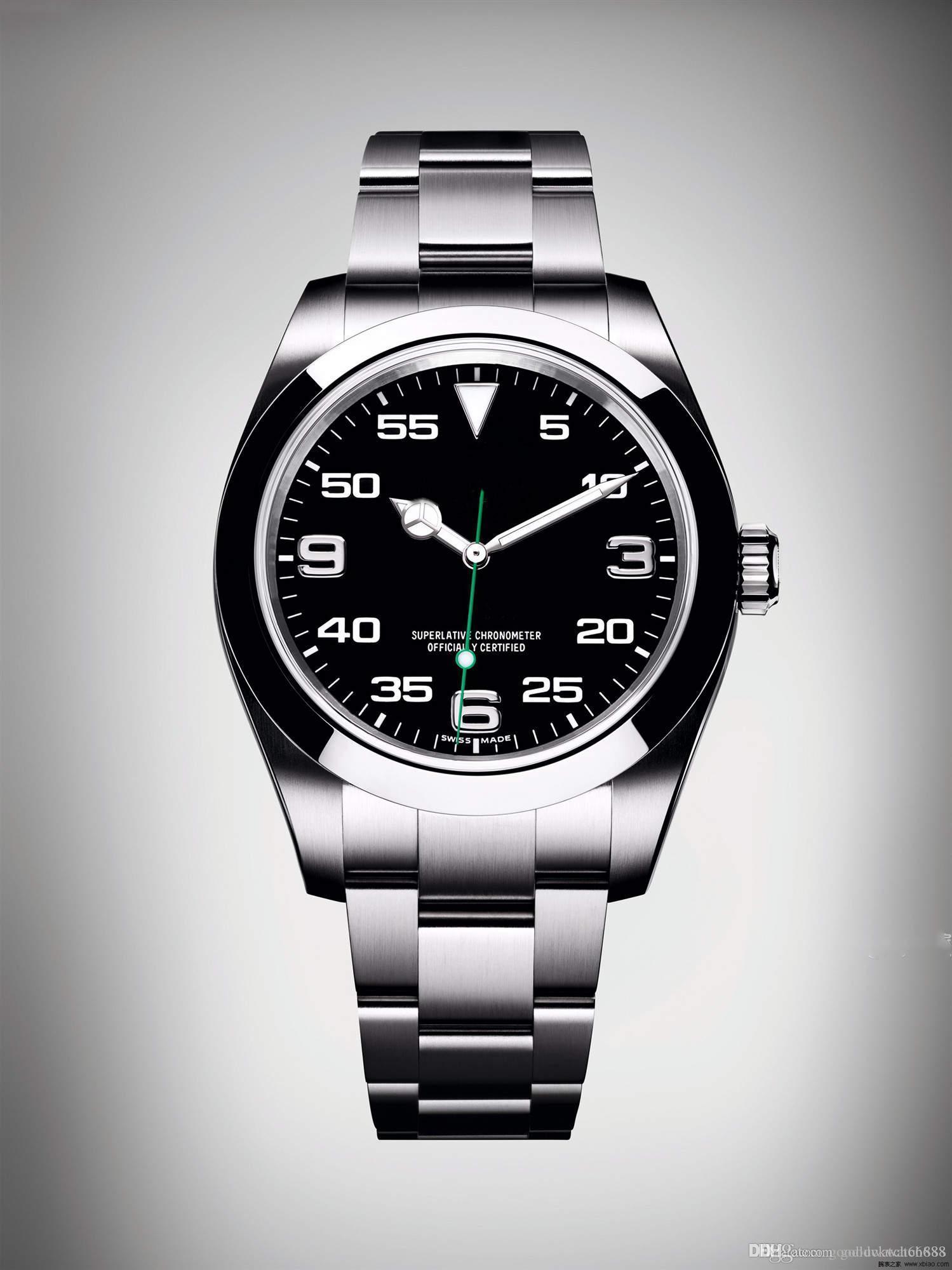 2019 Top maître ciel soigneusement en série Overlord 116900 montres hommes montres automatiques de luxe mécaniques 40mm-45mm en acier inoxydable