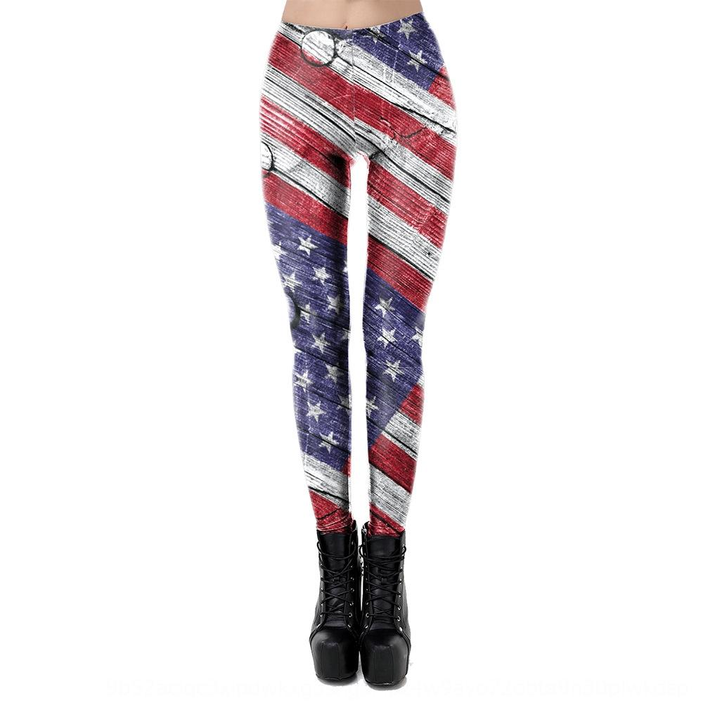 Best-selling tight pants Flag tight pants American flag 3D full-body printing women's sports hip-lifting leggings KDK2057