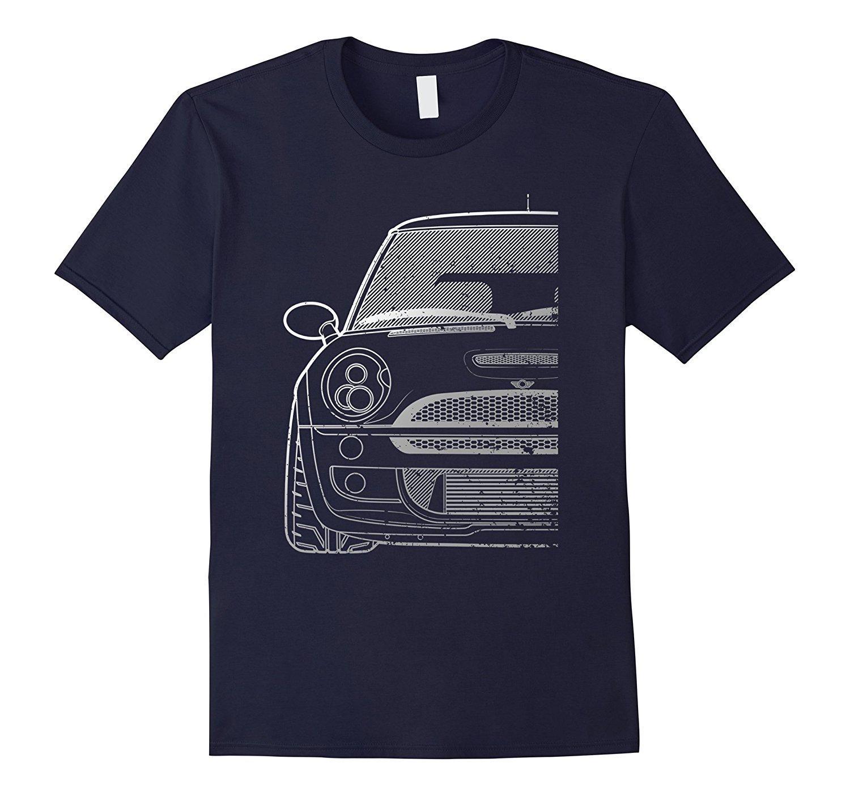 2020 Sıcak satış Moda 53R Serisi tartaklandı MiniHatch Tişörtlü Tee gömlek Boosted