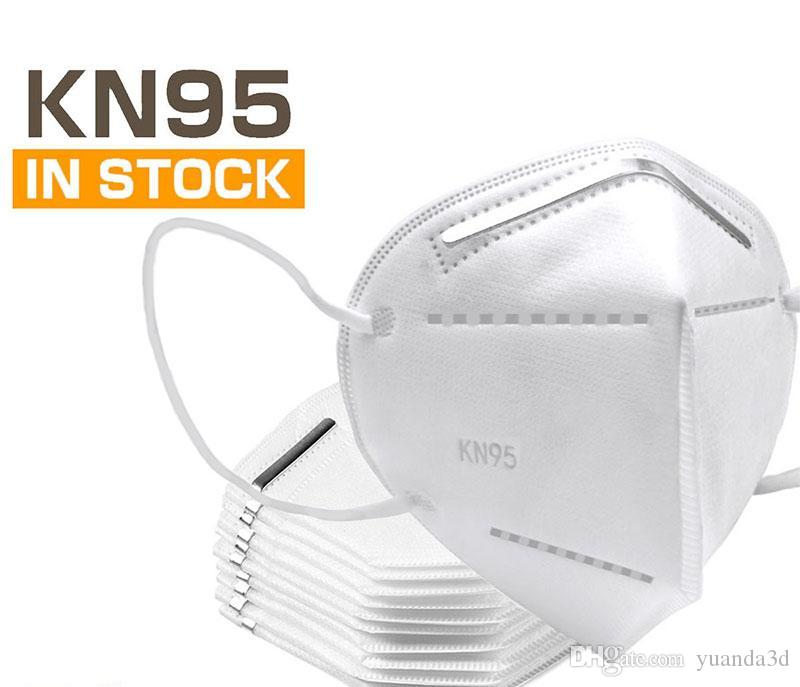 Máscaras frete grátis descartável reutilizável KN95 contra pó rosto máscaras de filtro de filtração máscara protetora cobrir a boca Windproof Para adultos
