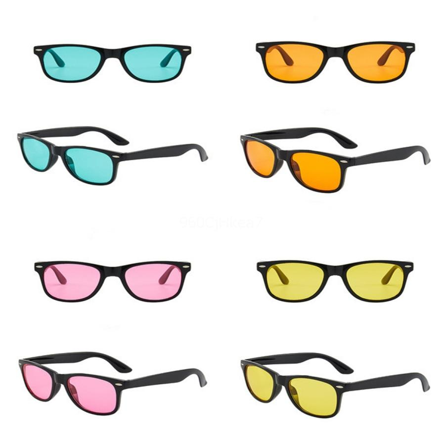 Gafas de sol de gran tamaño Oulylan Mujeres gradiente de colores Gafas de sol Ig Marcos Den # 840