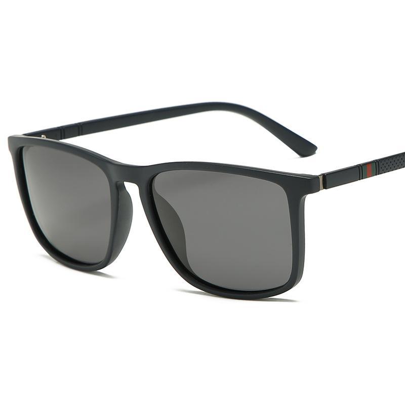 جديد الاستقطاب نظارات شمسية رجالية موضة الإكسسوار ذكر نظارات تصميم العلامة التجارية نظارات شمسية Oculos Gafas النظارات الشمسية