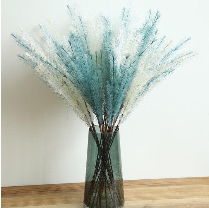 Artificial Plush Grass Bouquet Artificial Plants DIY Wedding Decoration for Home Fake Flowers Dried Flowers Artificial Flowers