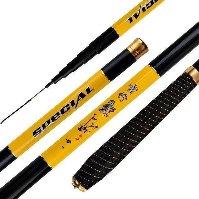 Spor Eğlence Yeni Balıkçılık Spinning Rod Ultra hafif olta El Kutbu İçin Karbon Elyaf Süper Zor Ultra Hafif Sazan -Zor