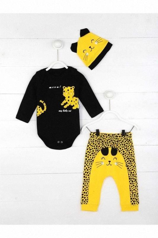 Желтый Baby Boy 3 шт Набор v6uz #