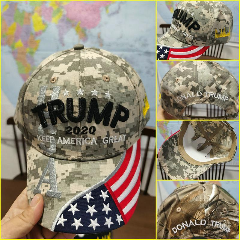 Machen Sie Amerika Great Again Cap Camouflage USA-Flaggen-Baseballmütze Weiß Make America Great Again Snapbacks hwjh hWyfx