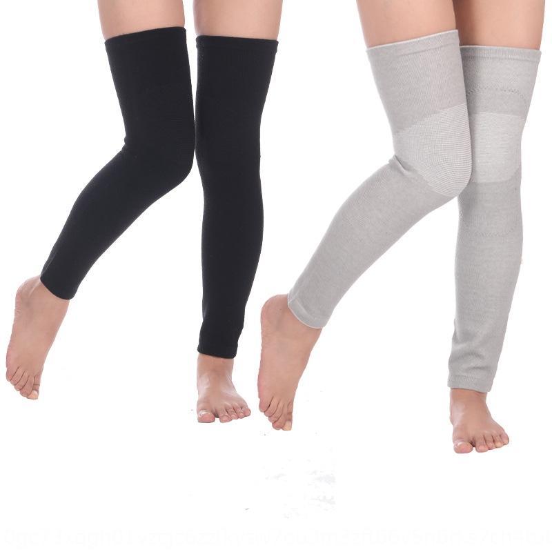 aquecer de idade e manter as pernas frias veludo engrossado almofadas prova de frios do inverno auto-aquecimento das mulheres dos homens e joelheiras quentes joelho