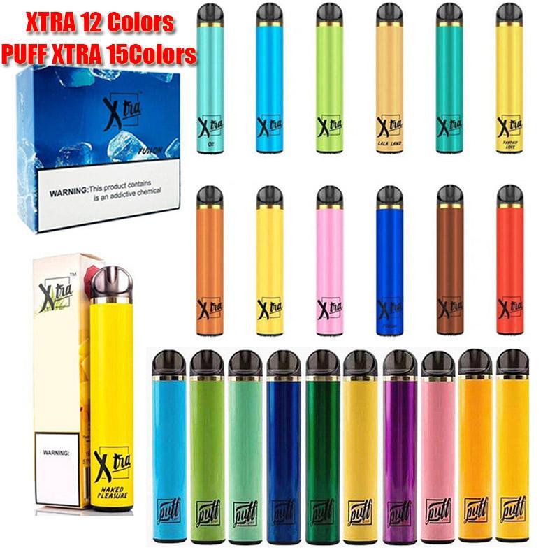 Puff Xtra Xtra descartável Dispositivo Pod Kit 1500 Puffs Prefilled 5,0ml Battery Cartridge Vape Esvaziar Pen VS Bar Air Plus fluxo fulgor