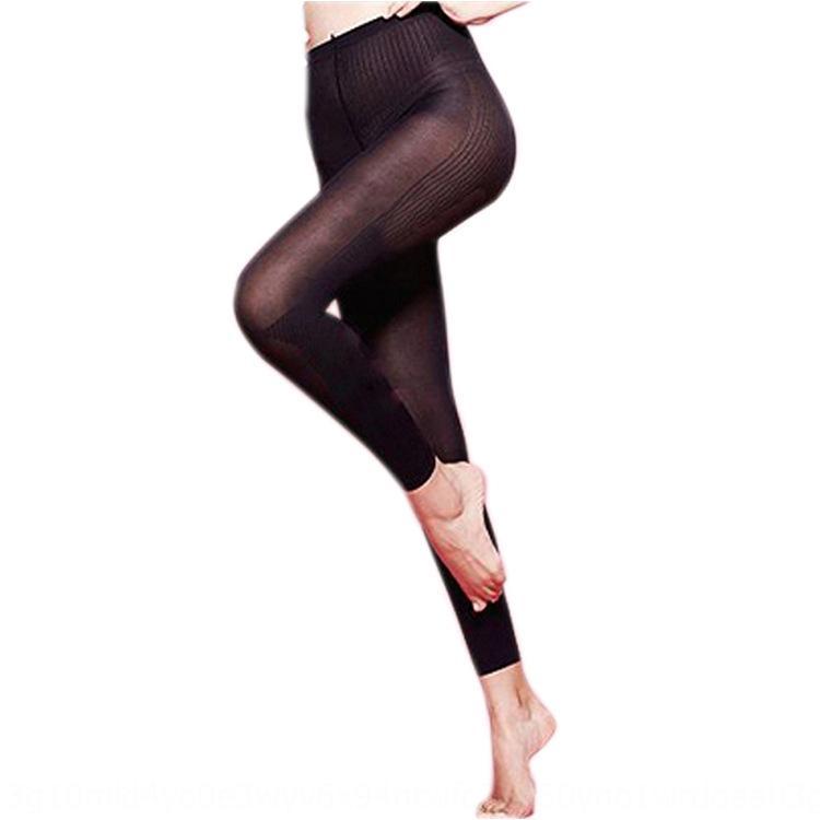 Dormir cuerpo que forma la presión 5jR5V de tres secciones noche calcetines belleza de la pierna pantimedias pantalones hasta los tobillos de las mujeres delgadas calcetines de presión func DsWCR