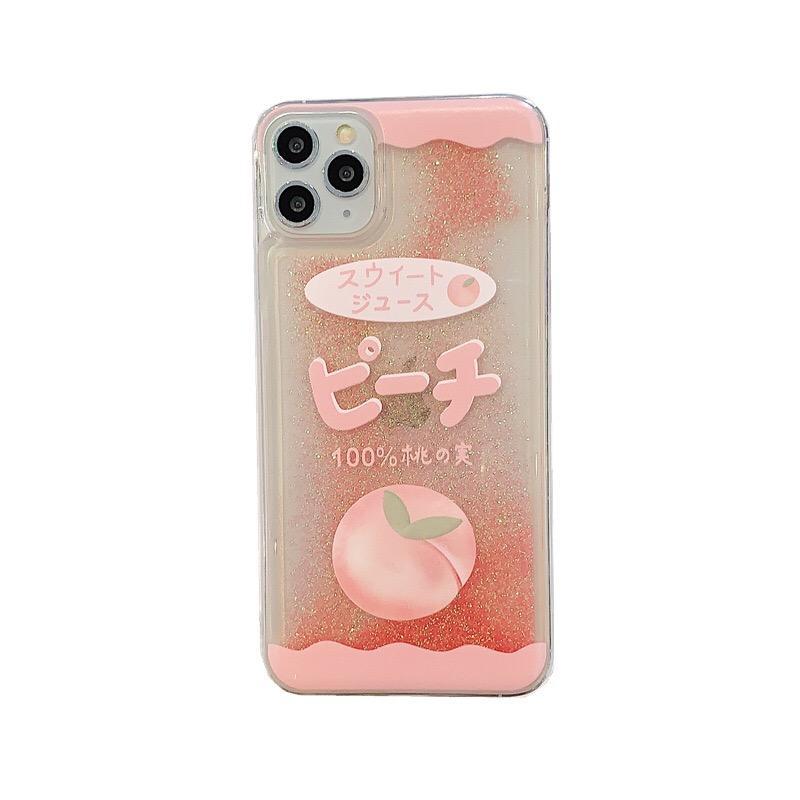 Refrigerar o líquido Quicksand caso capa para Apple iPhone 6 6S 7 Plus Bling Glitter Floating dinâmico Movendo areia 3D plástico resistente Protective