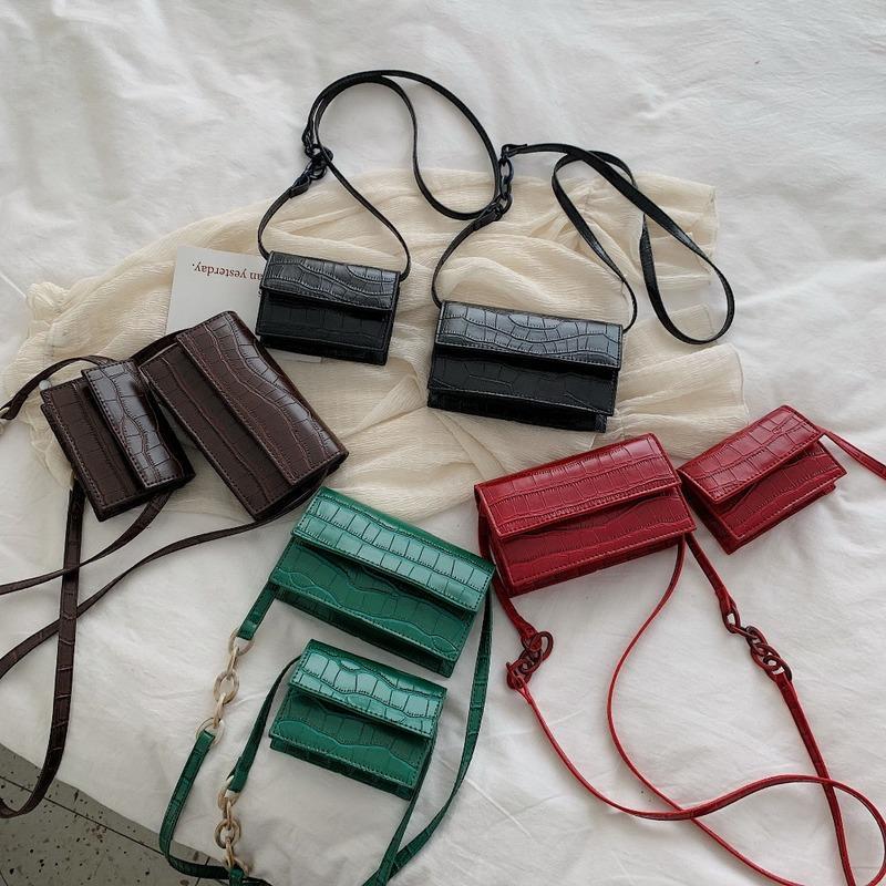 Pierre Crossbody 2020 Petit PU Sacs à main en cuir pour femmes et sacs à main New Ladies épaule Femme Messenger Sac à rabat Fashion