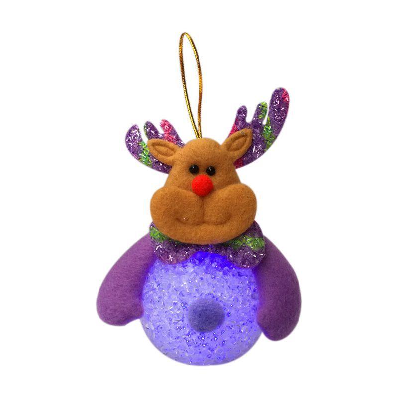 ABFY-1Piece Снеговик яркий Санта Клаус Многоцветный рождественские украшения
