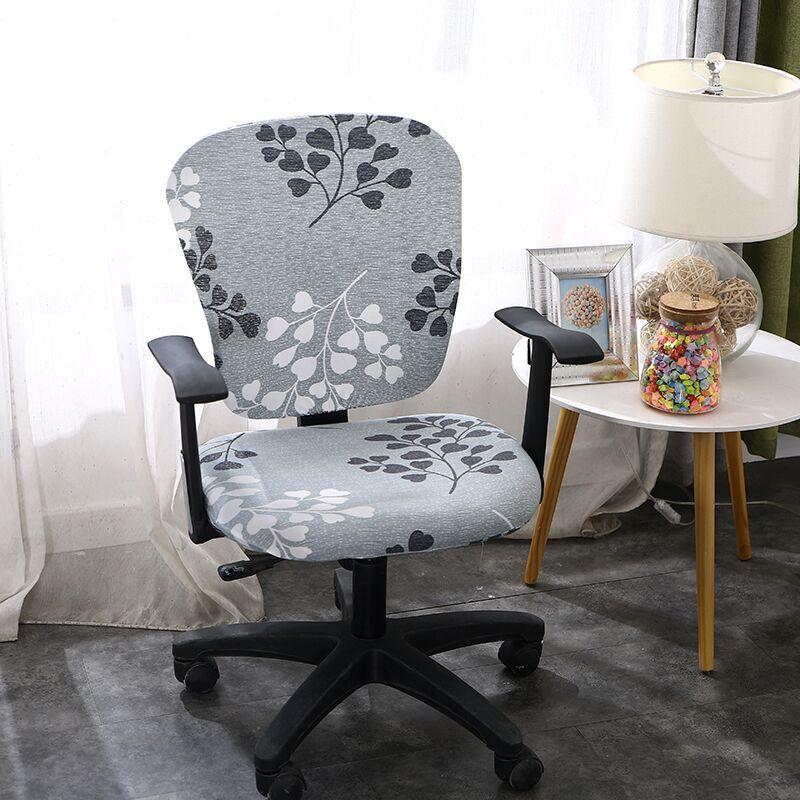 Universalgröße Stretch Spandex-Stuhl-Abdeckungen für Bürositz Stühle Removable Slipcovers Anti-dirty-Computer-Sitzstuhl-Abdeckung 1Pc