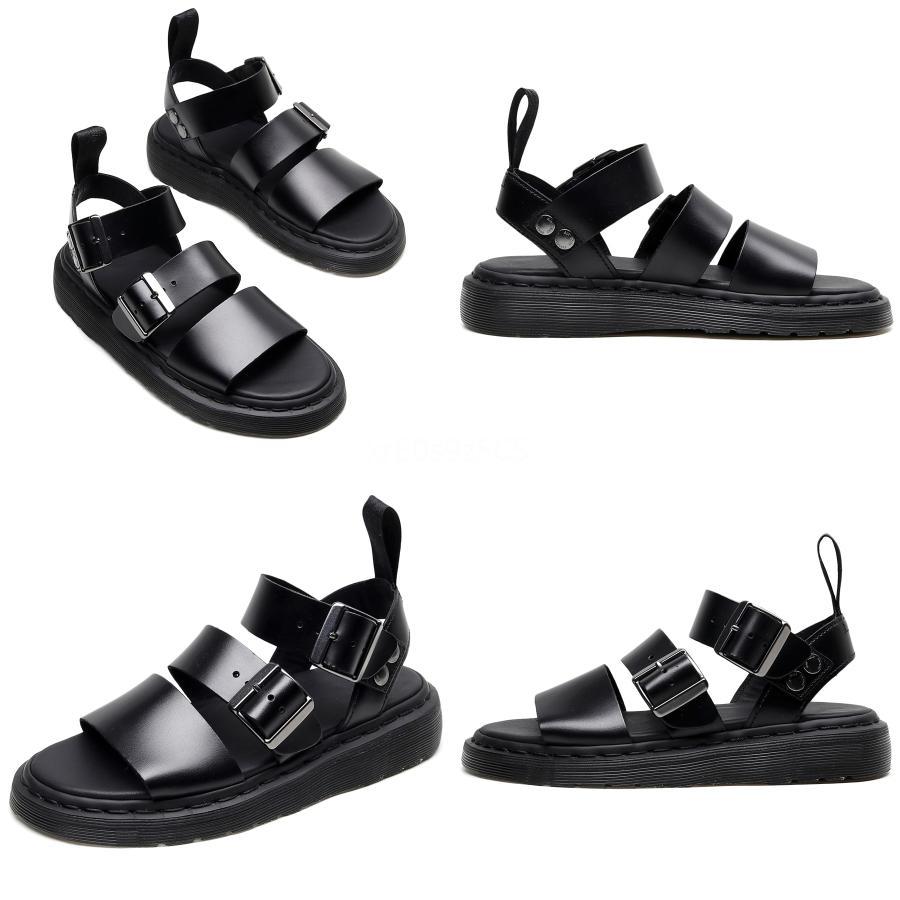 Fashion Frauen Pantoffeln Split Leder Sandalen 2020 Summer Open Toe Thick Soled Female Außerhalb Frauen Wedges Hausschuhe Plattform-Schuhe. # 748