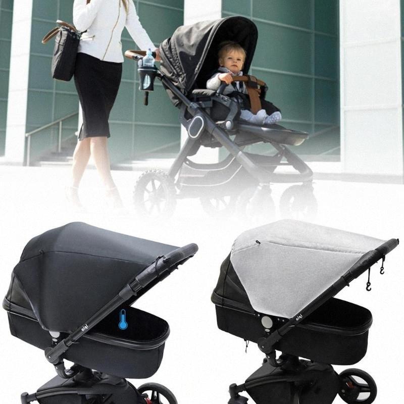 Bebek Evrensel Karşıtı UV Böcek Sivrisinek Kovucu Bebek Arabası Cibinlik Arabası Crip Netleştirme Güneşlik Canopy Kapak 6nPE #