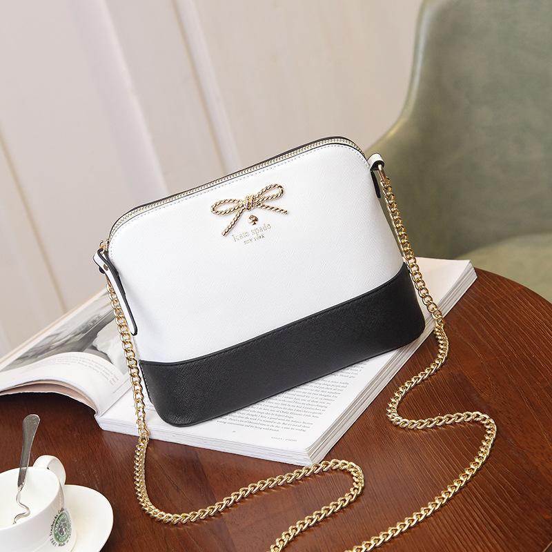 Schultertasche und Handtaschen Portemonnaie Messenger Luxusmode einfache tägliche wasserdichte Frauen Weibliche Innenschlitz-Tasche