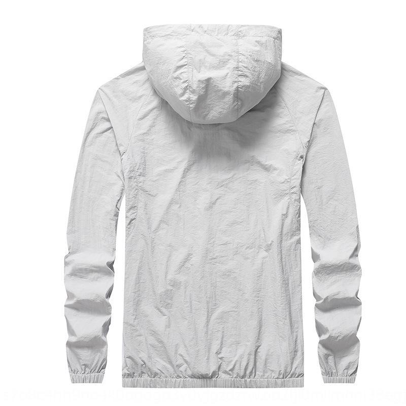 FUJ6l vêtements peau de pêche en plein air manteau crème solaire vêtements pour femmes coupe-vent et manteau de peau de crème solaire d'été des hommes ultra-mince coupe-vent l