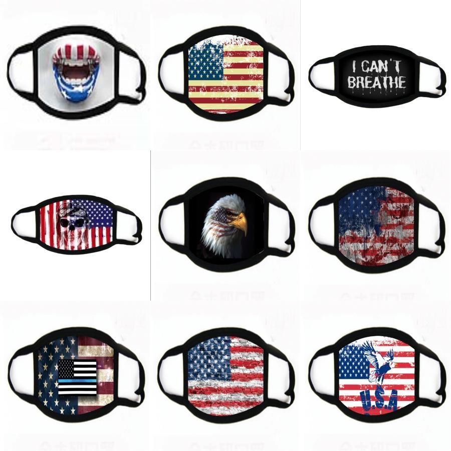 Starry Sky maschere di stampa Romantic più venduti 10 maschere di colore carino appeso orecchio maschere antipolvere spugna sottile # 945