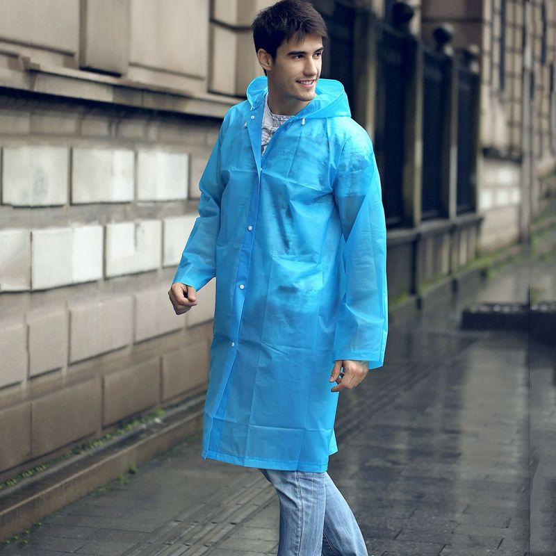 Higt qualità non disponibile delle famiglie Raincoat raincape EVA Eco-friendly di moda all'aperto Raincoat fabbrica indumenti impermeabili all'ingrosso DH0025