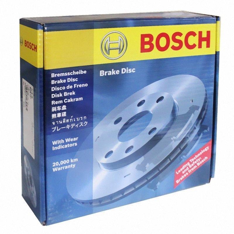 2pieces / set coche trasera del freno de disco del BYD S6 / M6 2.0 / 2.4 0986AB6676 H0sY #
