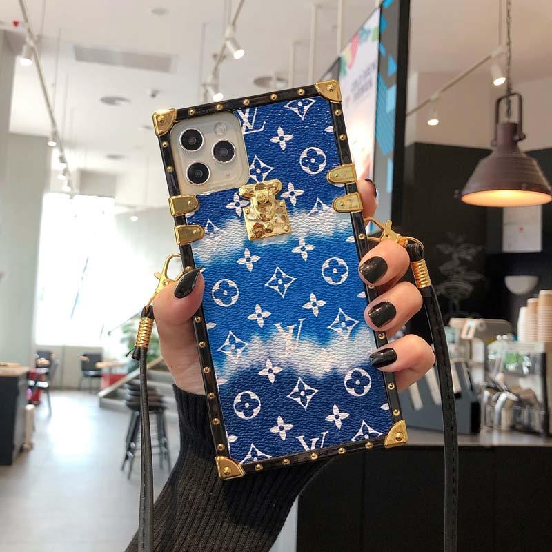 iphone samsung S10 S20 NOT 11 Pro Max XR XS 7/8 artı PU deri Moda Modelleri Telefon Geri 8 9 10P vaka için moda telefon kılıfı