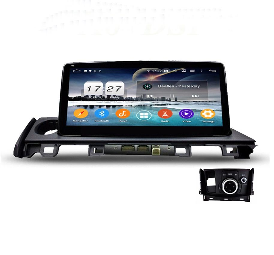 "PX6 4gb ram 10.25"" Android 9.0 Car dvd Player for Mazda 6 2017 2018 DSP Radio GPS Car Audio Bluetooth 5.0 WIFI Easy Connect"