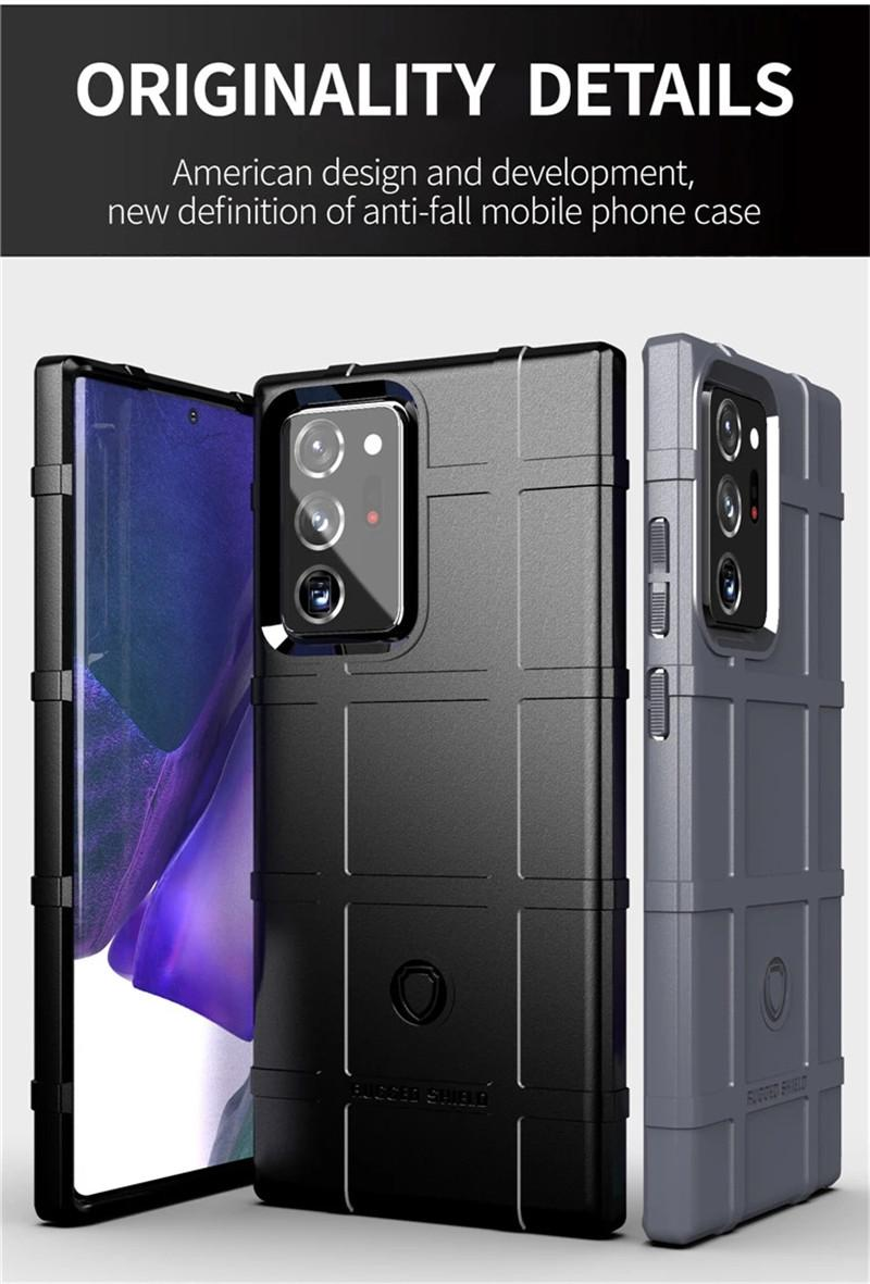 Rugged Shield Armor TPU Cell Phone Cases For Samsung Galaxy Note 20 S20 A11 Iphone 11 Google Pixel 5 4 XL Shockproof Case
