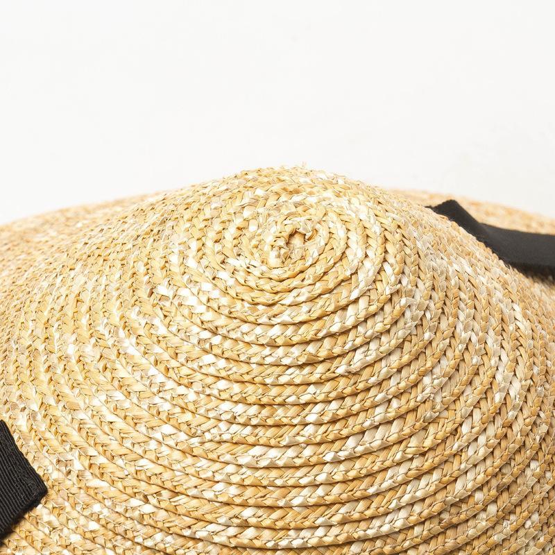 mulheres USPOP novo sol verão cônico trigo aba larga Y200716 chapéu feminino lace-up da praia da palha