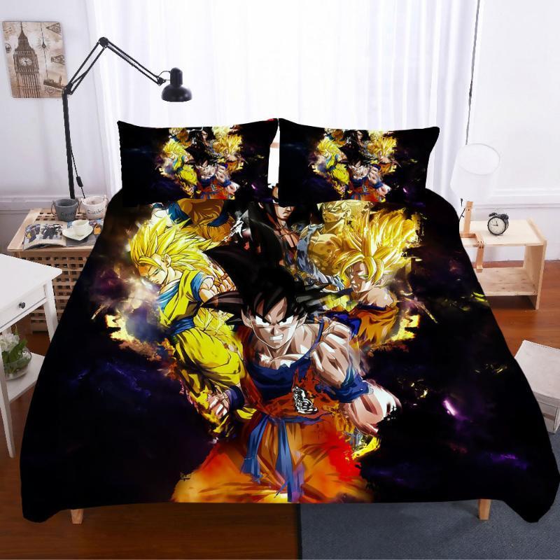 Ev tekstili Nevresim Pamuklu yorgan Ve Keten Setleri King Size Yatak Seti Yatak Kaba Calico Set 3d