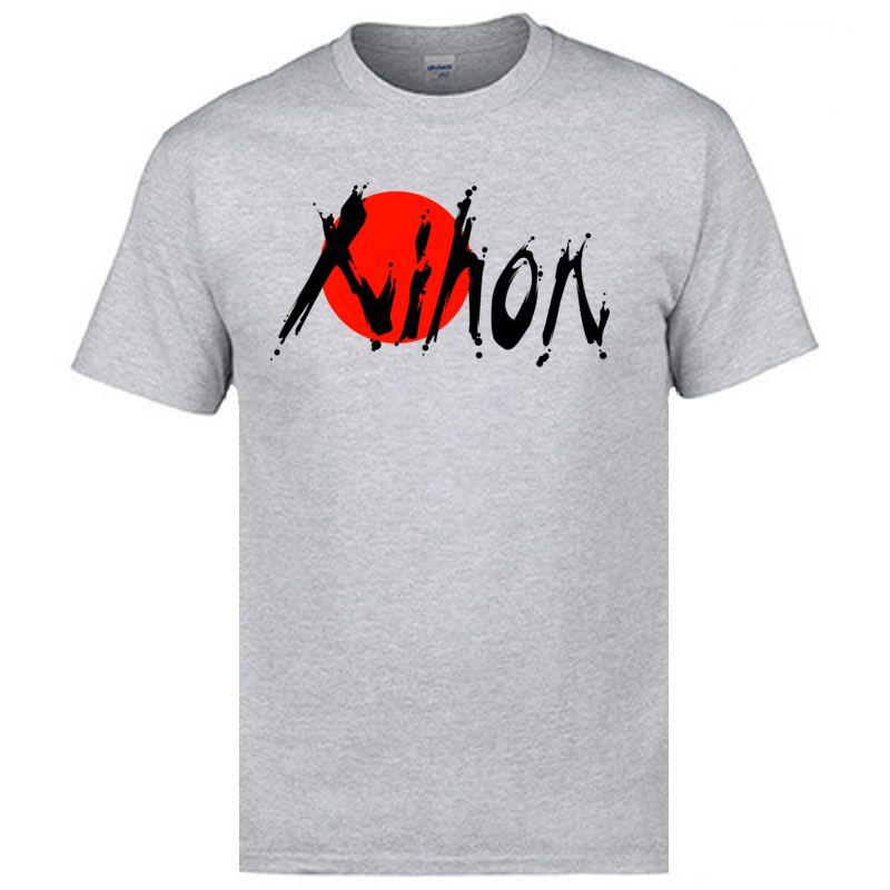2020 mais novo Bandeira de Japão NIHON Camisetas Designer carta de quadro T-shirts Mens Moda Grande camisetas personalizadas Cotton camiseta Boa