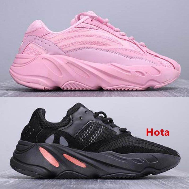 Inerzia 2019 V2 Nuova 700 corridore dell'onda Mens del progettista delle donne delle scarpe da tennis di New Static Mauve migliore qualità Kanye West sport calza il formato 5-12