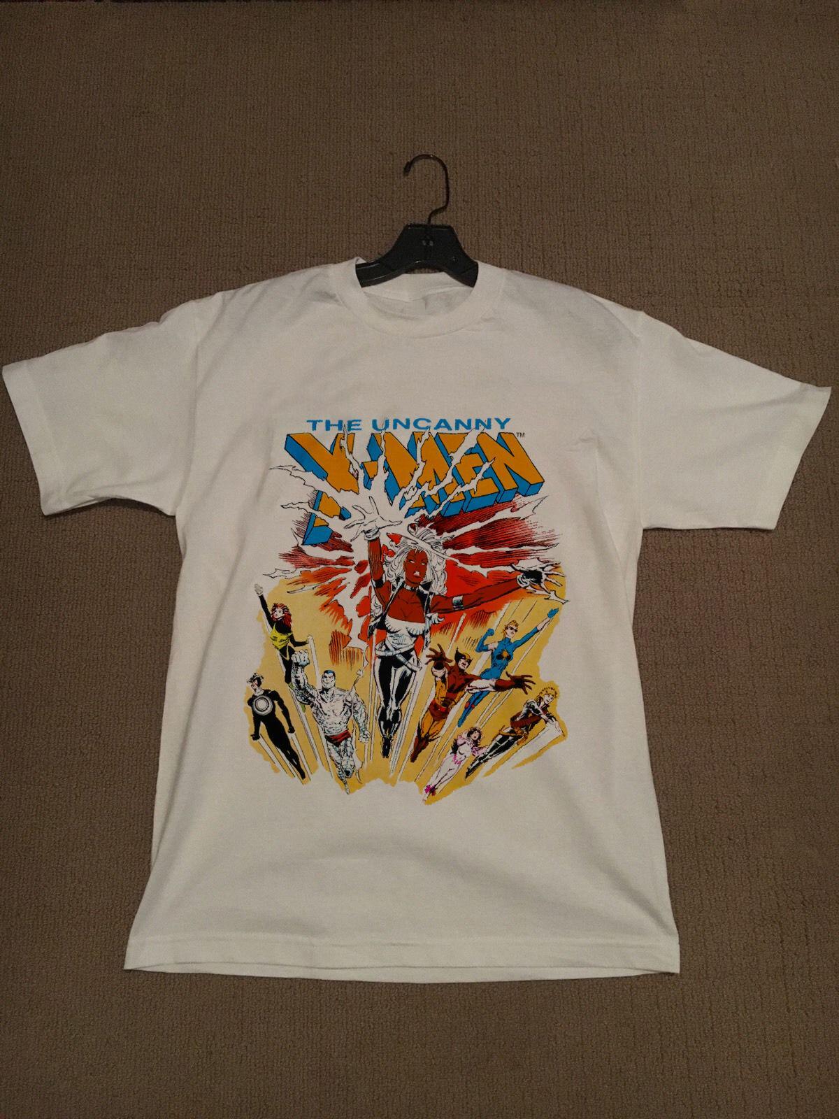 VTG années 80 1988 La Uncanny X-MEN Vtg INFERNO X-MEN Marvel Comic T-shirt de mode New Top T-shirts T-shirts T-Top