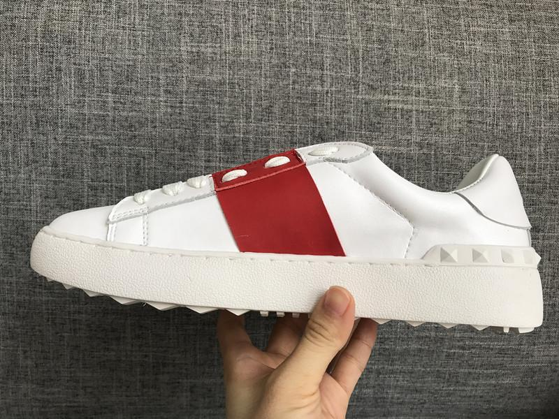 Designer de Luxo calçados casuais Rockrunner Lazer sapatos Homens Mulheres Sneakers Sports Skateboarding Sapatos Flats Sapato Tennis Sports a28