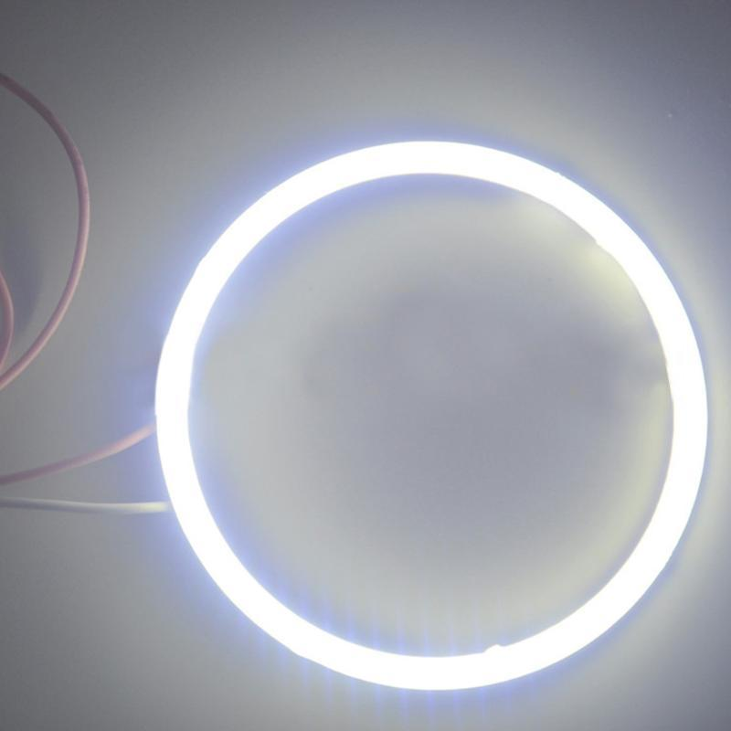 12V 24V Decoration Fog Signal Led 60mm Angel Eyes COB Replacement Accessories Car Headlight