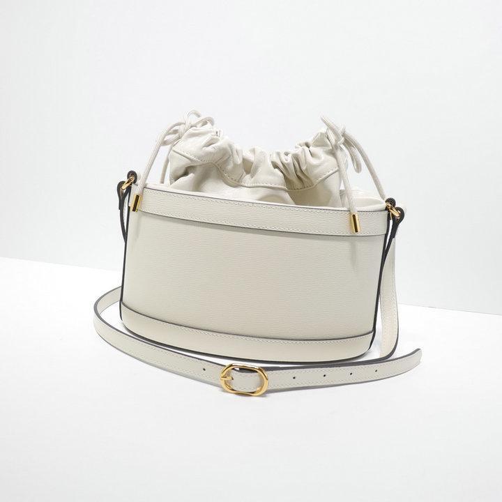 Saco clássico Couro Moda Casual Horsebit Bucket ombro da mulher Saco 602118