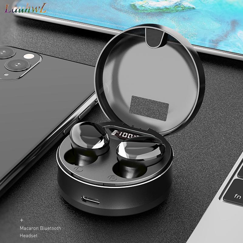 블루투스 이어폰 HIFI BT 5.0 만질 무선 헤드셋 TWS 미니 스포츠 폰 드 ouvido 블루투스 마이크 실행