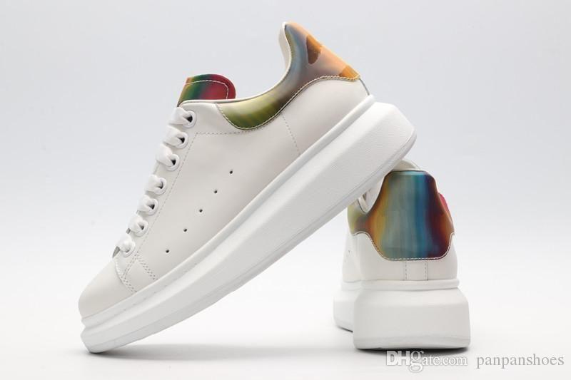 Novos itens Krystal Donna Plano Homens Sneakers Designer Luxo Mens Bottoms Red Shoes Womens Júnior Spikes sapatas lisas ydyl19030816