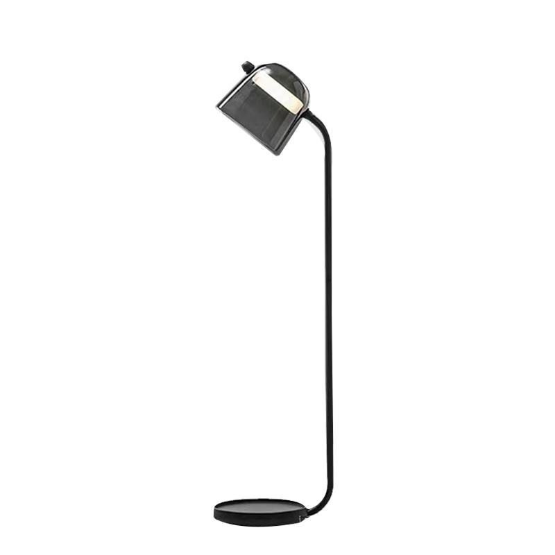 Nordic Creative Glass Floor Lamp Living Room Dining Room Bedroom Bedside Standing Light Lighting Fixture FA094