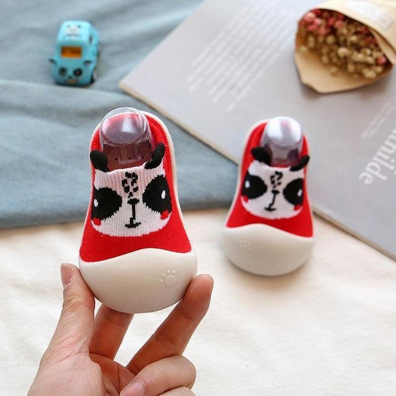 Zapatos zapatos primero muchacho del niño unisex primer caminante del bebé del verano al aire libre de goma antideslizante de tejido suave suela de los botines