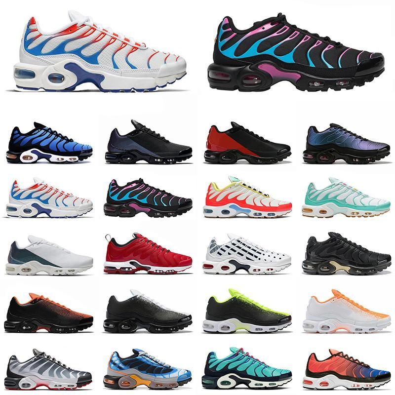tn plus se più Miami Vice all'aperto scarpe da corsa Air Hyper Blu Urlo Verde Vernice Doppia Crimson uomini allenatore scarpe da ginnastica